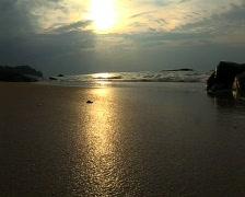 Beach waves Stock Footage