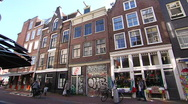 Stock Video Footage of Amsterdam-Staalstraat II