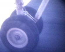 Stock Video Footage of Retro Cine - Aeroplane Take Off