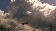 Large Plane taking off, Heathrow London Stock Footage