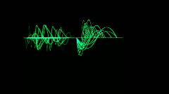 Big Oscilloscope Stock Footage