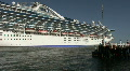 Princess Cruise Ship - Port Of Los Angeles Footage