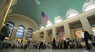 Timelapse - Grand Central Station NYC B2 Stock Footage