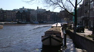 Stock Video Footage of Amsterdam-Amstel III