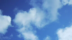 Sky and clouds. - stock footage