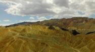 Death Valley HS 04 Zabriskie Point Time Lapse x20 Loop Stock Footage