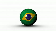 World cup BRAZIL Stock Footage