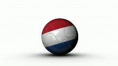 world cup NETHERLANDS - stock footage