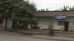 street view Arusha - stock footage