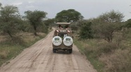Stock Video Footage of driving safari car