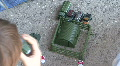 Military Toy Play Set HD Footage