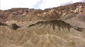 Death Valley 04 Zabriskie Point Time Lapse x10 HD Footage