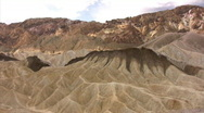 Stock Video Footage of Death Valley 04 Zabriskie Point Time Lapse x10