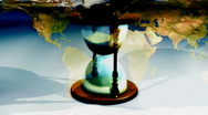 World Time Concept Looping Background Stock Footage