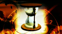 Hourglass Looping Background - stock footage