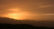 Stock Video Footage of Death Valley 15 Telescope Peak Sunset Loop