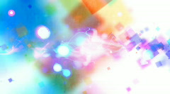Fractal Flow background loop Stock Footage