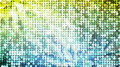 JHD - eMD - Disco YellowBlue Stock Footage