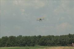 Stearman Landing - stock footage