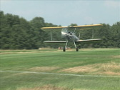 Stock Video Footage of Stearman Take Off