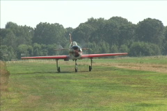 Yak 52 Taxi Stock Footage