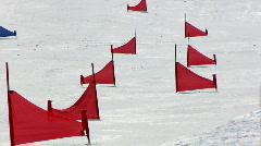 Snowboarding 4  Stock Footage