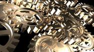 Rotating Gears Stock Footage