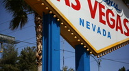 Stock Video Footage of Welcome to Fabulous Las Vegas 1559