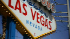 Welcome to Fabulous Las Vegas 1561 Stock Footage