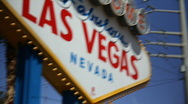 Stock Video Footage of Welcome to Fabulous Las Vegas 1561