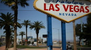 Stock Video Footage of Welcome to Fabulous Las Vegas 1562
