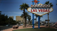 Stock Video Footage of Welcome to Fabulous Las Vegas 1563