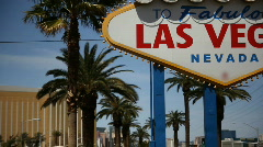Welcome to Fabulous Las Vegas 1564 Stock Footage