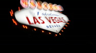 Welcome to Fabulous Las Vegas 1573 Stock Footage