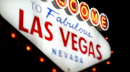 Stock Video Footage of Welcome to Fabulous Las Vegas 1574