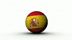 world cup SPAIN - stock footage