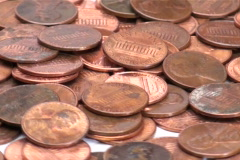 Penny zoom - NTSC - stock footage