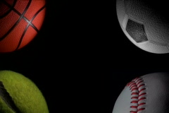 Sport balls loop V1 - NTSC Stock Footage