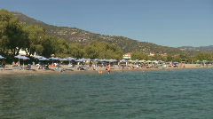 Votsalakia beach, Samos Island, Greece Stock Footage