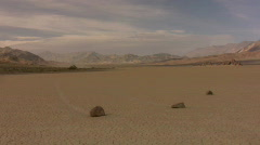 Death Valley 28 Racetrack Sliding Rocks Time Lapse x10 - stock footage