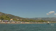 Votsalakia beach, Samos Greece Stock Footage