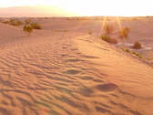 Stock Video Footage of Death Valley HS 16 Sand Dunes Sunrise Loop