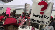 Stock Video Footage of tea party 2010 a