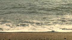 Beach Waves on Sandy Shore HD 1080 Stock Footage