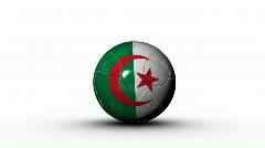 World cup ALGERIA Stock Footage