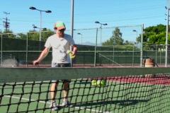Tennis coach V1 - NTSC Stock Footage