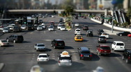 Las Vegas Traffic 1580 Stock Footage