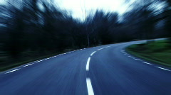 Countryroad Stock Footage