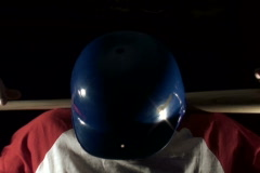 Baseball player pose - NTSC - stock footage