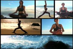 Yoga montage - NTSC - stock footage